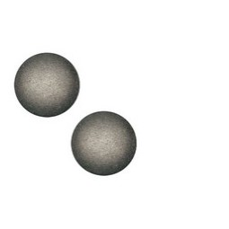 Cabochon Polaris Soft Tone 20mm silver black matt