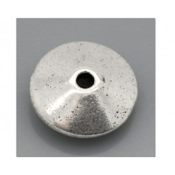 Metallperle Disc 11,3mm