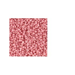 Rocailles 12/0 pearl antique pink 2mm