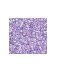 Miyuki Rocailles 15/0 dyed lilac silverlined Alabaster 15-574