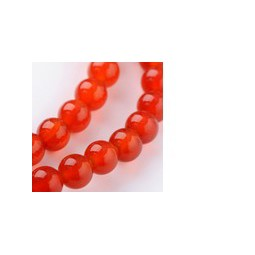 Karneol 6mm orange-rot