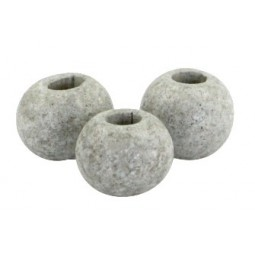 Keramikperlen 8mm stonewashed grey