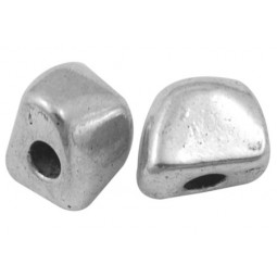 Metallperle Nuggets 10x8x8mm antiksilber