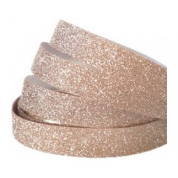 Glitzer Tape light rosegold 10mm