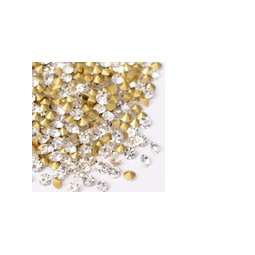 Strasssteine Glas Chatons 1,5-1,6mm crystal